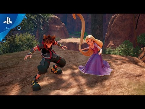 Kingdom Hearts III – E3 2018 Square Enix Showcase Trailer | PS4