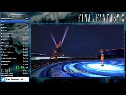 Final Fantasy X Speedrun - 9:13:42 - PC