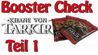 Magic the gathering - BOOSTER CHECK - Khane von Tarkir - Teil 1