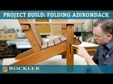 PROJECT BUILD: Folding Adirondack Chair