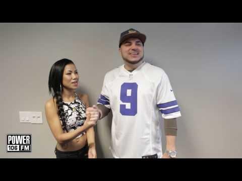 Felli Fel and Jhené Aiko bond over the Cowboys