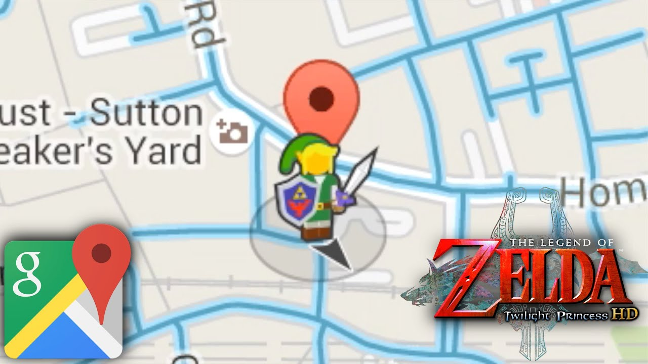 Google maps gets link guide for zelda twilight princess youtube gumiabroncs Choice Image
