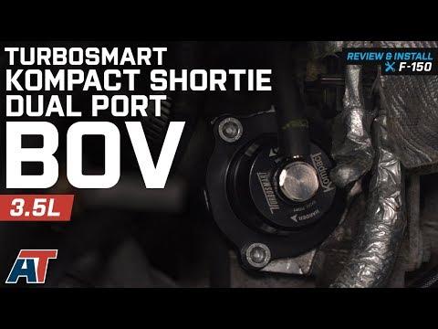 2011-2012 F150 Turbosmart Kompact Shortie Dual Port BOV 3.5L EcoBoost Review & Install