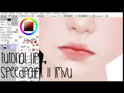 How to make Basic Lips || Imvu SpeedPaint.
