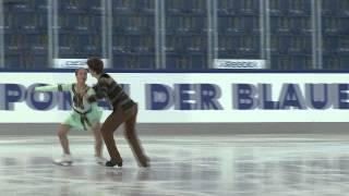 11 D. MOROZOVA / M. ZHIRNOV (RUS) - JGP GER / Chemnitz Junior Ice Dance Free Dance