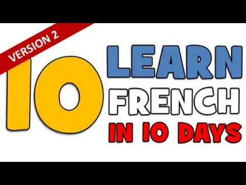 Learn French In 10 Days (Version 2) # Day 3