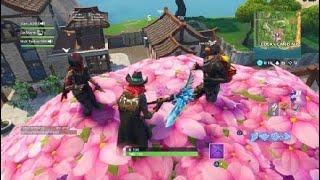 Fortnite - Dance On Top Of A Pink Tree - Week 4 - Season 6