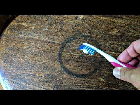 Как отмыть куркуму от столешницы
