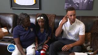 Tim Birckhead And Family Explore New Home, Surprise From Steph Curry! | The View