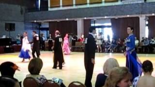 Open Standard Final - BU Ballroom Dance Competition 2010 - Paul and Theresa