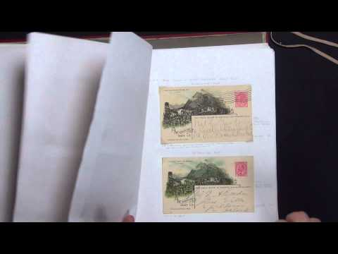 Canada Illustrated Railway Postcards Stamp Collection