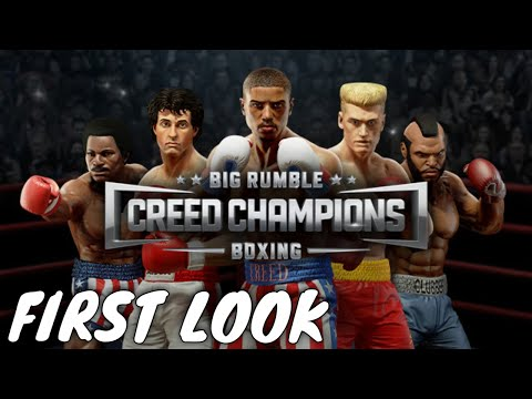 Big Rumble Boxing: Creed Champions First Look Gameplay  