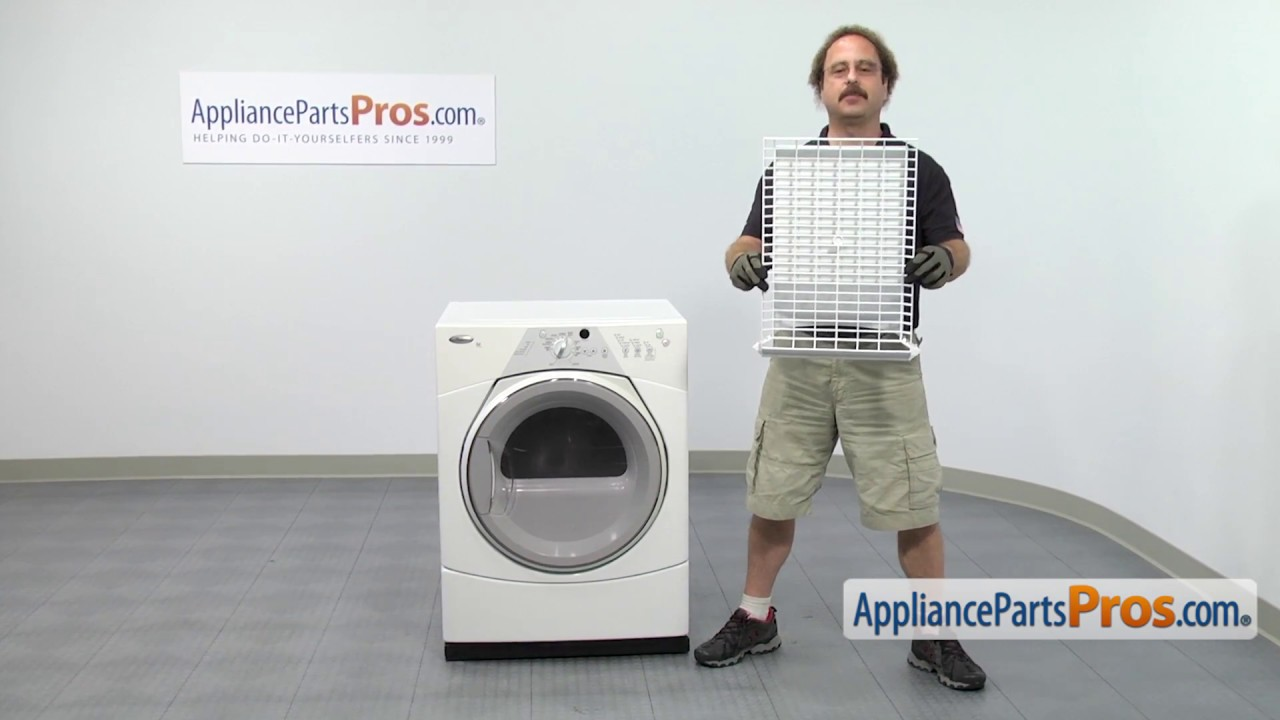 Dryer Drying Rack Part 8212450a How To Replace Youtube