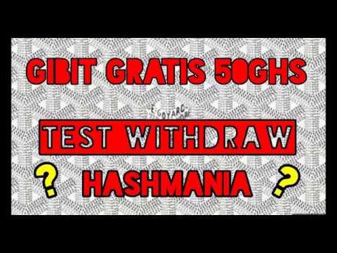 Gibit Gratis 50 Ghs Cloud Mining, Test WD HASMANIA, Legit Kah ?