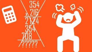 8) Pratik İşlemler - 3 Basamaklı sayıları farklı bir yöntem ile çarpma