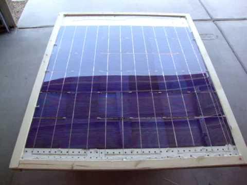Como Hacer Panel Solar En Casa Youtube