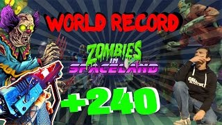 WORLD RECORD Round 242 (ERROR) Zombies in Spaceland