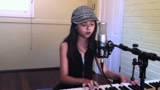 Beyonce ~ Halo Acoustic cover ~ Jasmine Clarke 12 y/o