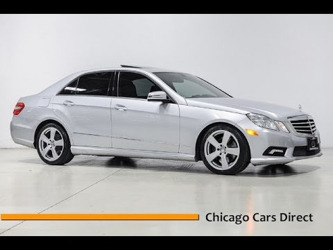Chicago Cars Direct Reviews Presents a 2011 Mercedes-Benz E-Class E350 Sport 4matic - A468350