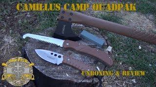Download Camillus Survival Pak 10 Shovel Pick Axe Machete