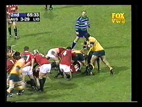 2001 - British & Irish Lions Tour - Game 1