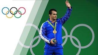 Moradi wins gold in Men