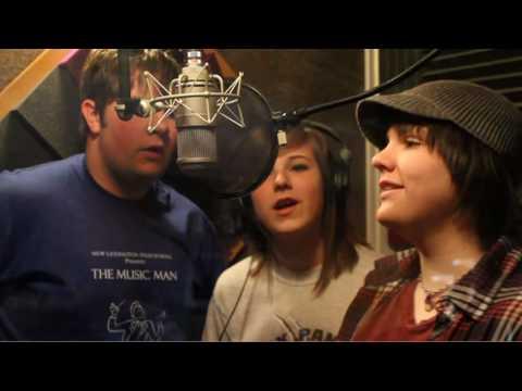 New Lexington High School Chamber Singers recording session 2010