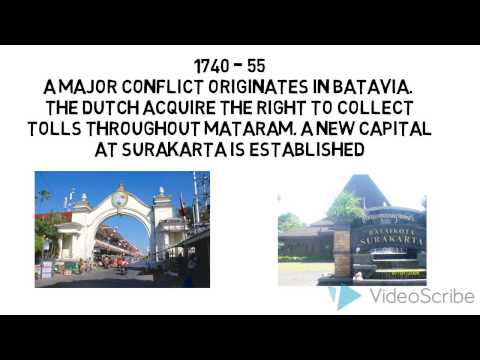 Fourth Video History of Indonesia