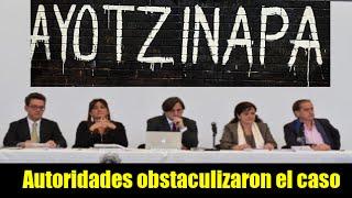 Autoridades obstaculizaron caso Ayotzinapa: GIEI
