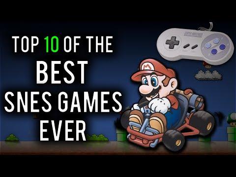 Top 10 Best Super Nintendo (SNES) Games Ever