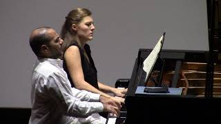 Brahms 16 Valzer op. 39 for piano four hands / Sara Costa & Fabiano Casanova Piano Duo