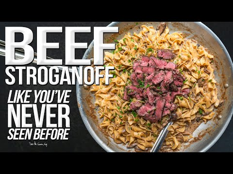 the-best-beef-stroganoff-|-sam-the-cooking-guy-4k