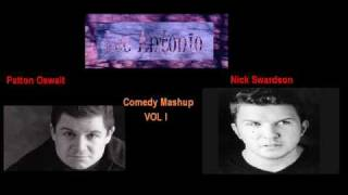 Patton Oswalt vs Nick Swardson Comedy Mashup by Lee Antonio