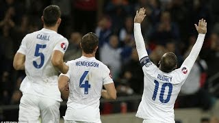 SAN MARINO vs England Euro 2016 Qualifying Highlights - Rooney scores 42nd goal