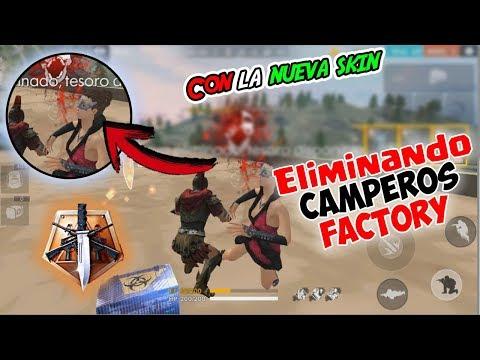 CAYENDO EN EL TECHO DE FACTORY | CLASIFICATORIA Y ELIMINANDO A TODOS LOS CAMPEROS | FREE FIRE Kurko