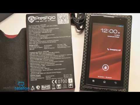 Распаковка Prestigio MultiPhone 4500 DUO: комплект и запуск