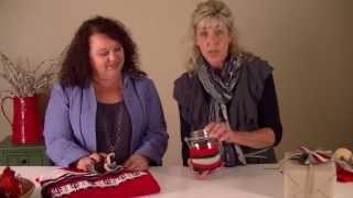 Make Ornaments From Thrift Store Christmas Sweaters | A Country Sampler Diy Video