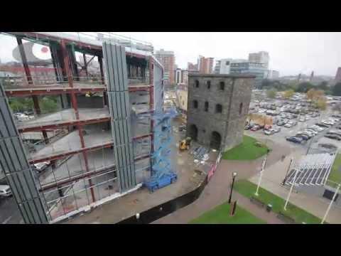 MEPC Wellington Place - office build time-lapse