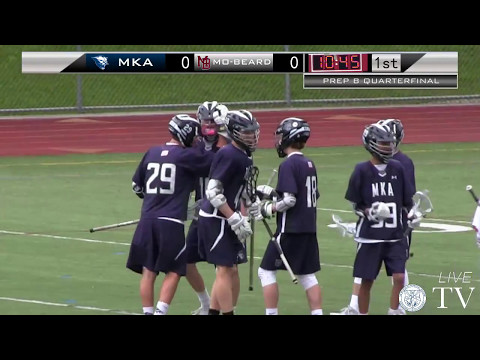 MKA at Morristown-Beard - Boys Lacrosse - Prep B Quarterfinal