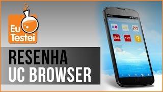 App Navegador UC Browser - Vídeo Resenha EuTestei Brasil screenshot 3