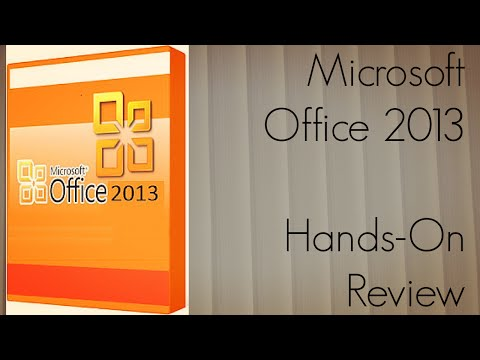 Microsoft Office 2013 Hands-On Review Office 365 Home Premium Software Preview