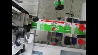 Машинка для наклеивания самоклеящейся этикетки на банки и бутылки(, 2014-10-23T07:35:11.000Z)
