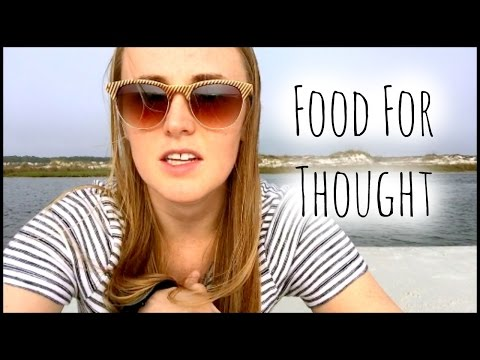 Food for Thought By A Dietitian // Nutrition Goals & Confide