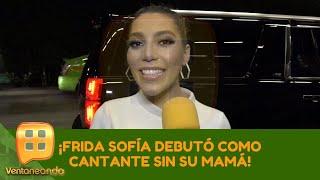 ¡Frida Sofía debutó como cantante sin su mamá! | Programa del 15 de julio de 2019 | Ventaneando