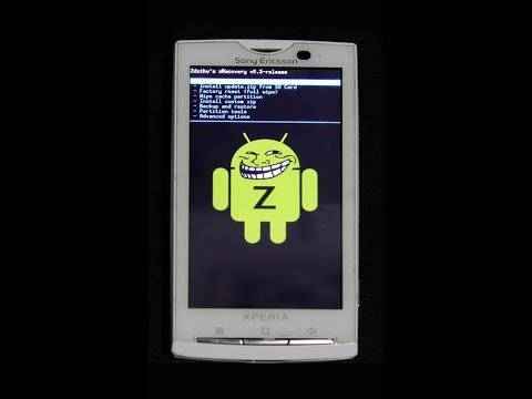 sony ericsson w8(andriod update, rooting) intro part _1