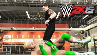 WWE 2K15 PC - Моя карьера #1 [Создание, настройки и первые бои!]