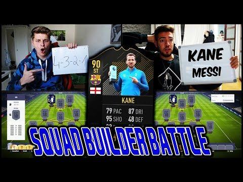Extrem lustiges KANE Barcelona Transer SQUAD BUILDER BATTLE vs. Wakez! ⚽🔥 Fifa 18 Ultimate Team