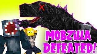 Minecraft - Crazy Craft 2.2 - Mobzilla DEFEATED! [28]