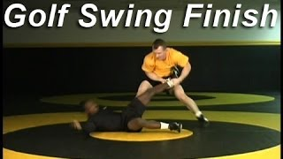 Golf Swing Hi Single Finish Kolat.com Wrestling Techniques Moves Instruction