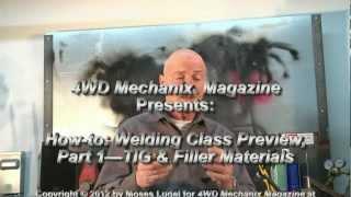 4WD Mechanix Magazine: Welding Class Preview Pt. 1—A TIG Welding Repair